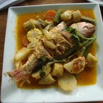 House specialty seafood entree