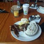 Great quail for breakfeast