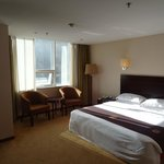 Large room - great view of adjoining apartments