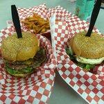 Nice burger.