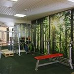 2014 renovated gym for hotel guests free to use