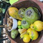Tempting fruit bowl
