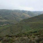 Overlooking trails
