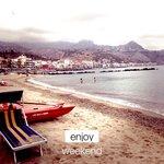 La plage de Naxos
