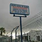 Entrance to restaurant/boat yard