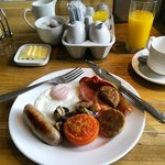The Full Cornish offered every morning