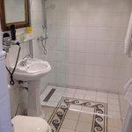 Bathroom is clean and looks very nice :-)