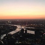 Bubbles atop the Eureka Tower!