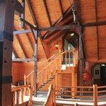 Urige Holzkonstruktion
