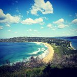 View from Barrenjoey lighthouse!