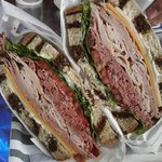 Another beautiful sandwich... (and tasty)
