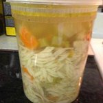 Chicken & Orzo Soup - quart purchased a while back