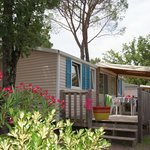 Mobil home Camping Lou Cantaire