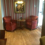 Part of the Dinning/Bar area at Premier Inn Manchester City(Piccadilly)