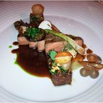 US -Prime -Beef [charcoal-grilled] eggplant, mushroom and onion