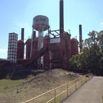 Sloss Furnace view on tour