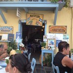 Taverna entrance
