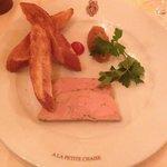 Duck Foie Gras with Apple Chutney Starter