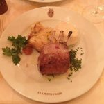 Roast Rack of Lamb coming from Bellac in South France Main