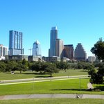 View of downtown from Auditorium Shores.