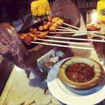 Amazing chicken satay