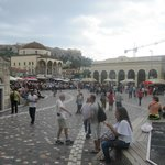 Lively square!