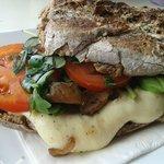 Mediterranic Grilled Cheese Sandwich