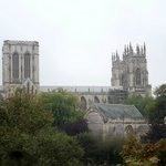 York Minster from the Roman walls