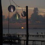 sunset from the restuarant