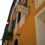 Outside Sign for Palazzina