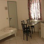 Room with kitchen corner