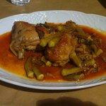 Chicken mit Okra