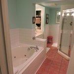 Garden Suites deluxe bathroom