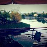 Seeblick von Restaurant
