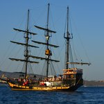 Pirates Catamaran- on our way to Santa Maria beach