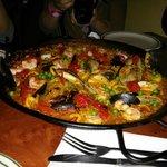 Ottima paella di pesce