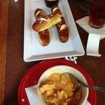 Soft Pretzels and Chicken Tortilla Soup