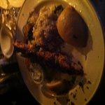 Chicken souvlaki mmmm!