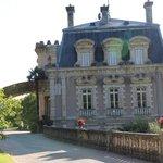 Château en revenant du parc