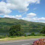 View of Loch Linne from front parking area