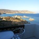 camera con balcone vista mare