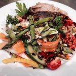 En af de famøse salater - her Dagens Salat !!