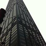 Ponto turistico 360 graus/Chicago-1 quadra do hotel