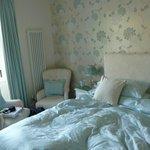 The romantic bedroom.