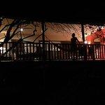 Morena Bungalow by night