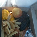 Racks of Ribs and Roasted Chicken Plate