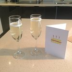 Complimentary Bubbly :)