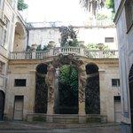 Внутренний дворик голубого дворца