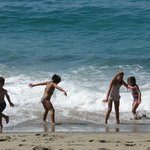 Kids Love This Beach!