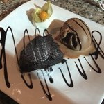 Another great dessert at Trattoria Calabrese